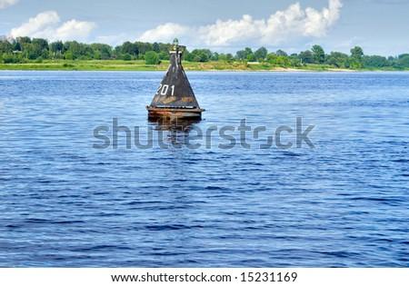 river beacon - stock photo