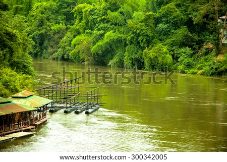 River houseboat