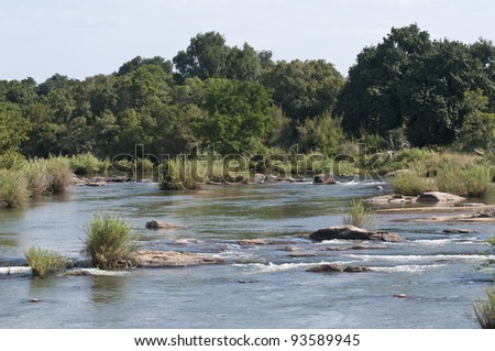 river in South Africa