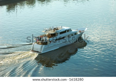 River launch-boat