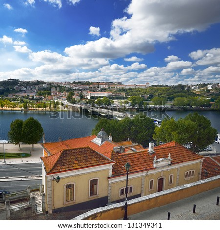 River Mondego and Coimbra - Portugal