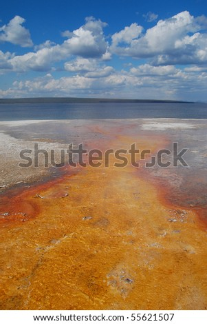 River of Fire - stock photo