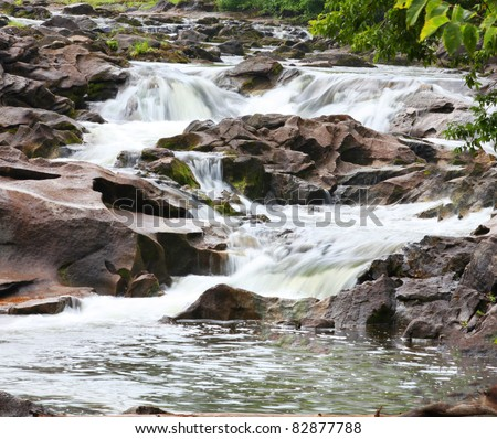 River Rapids - stock photo