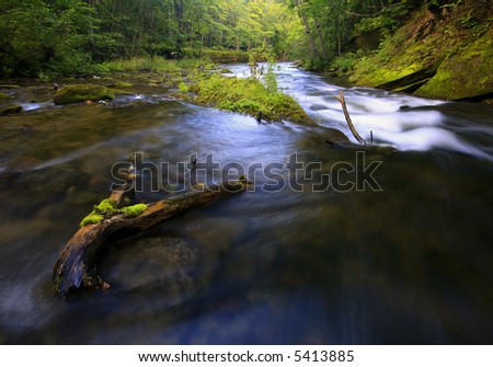 River Rush - stock photo