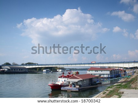 River Sava in belgrade