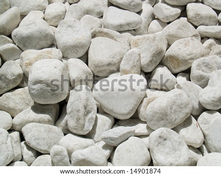 River stone abstract background - stock photo