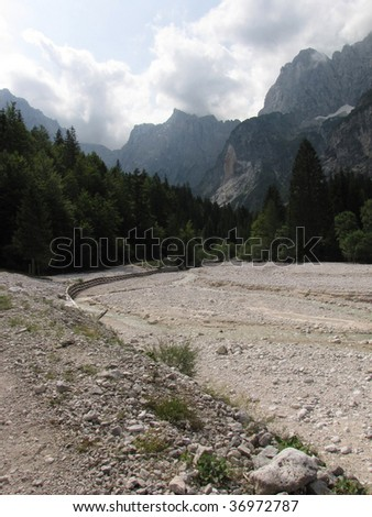 Riverbed, Slovenia