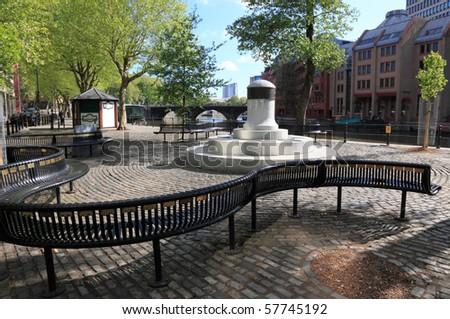 Riverside in Bristol, UK. - stock photo