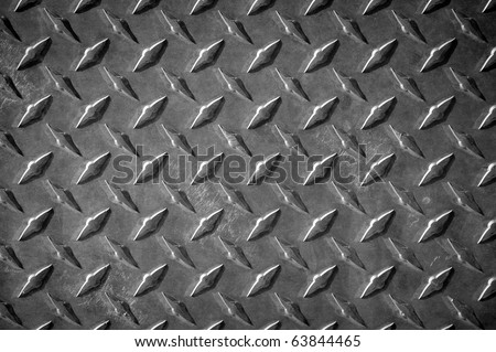 rivets plate metal background - stock photo
