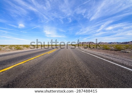 Road, highway, transport. - stock photo