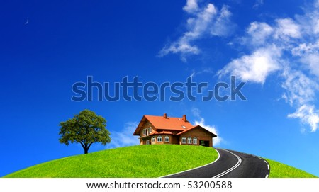 Road House - stock photo
