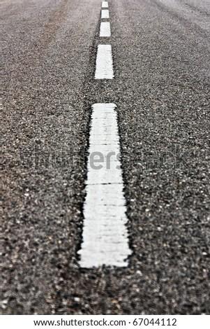 Road Marks - stock photo