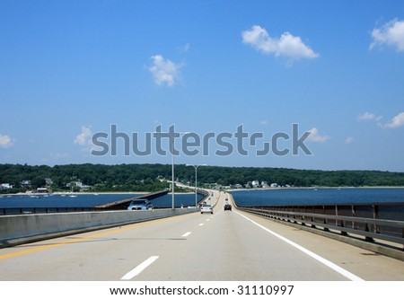 road over a bridge