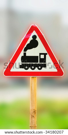 road sign. - stock photo