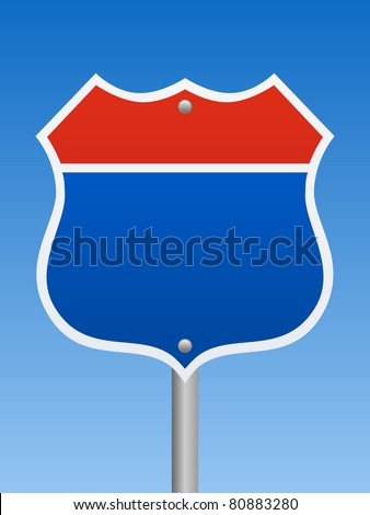 Road Sign - Interstate