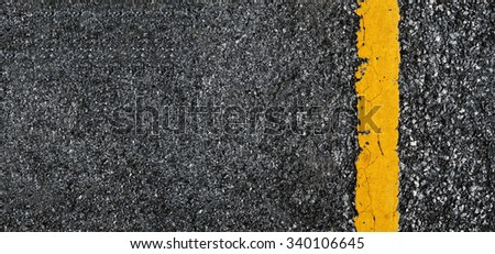 Road texture with two yellow stripe