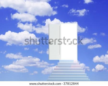 Road to dream - stock photo