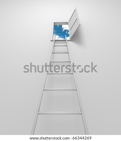 Road to solution - stock photo