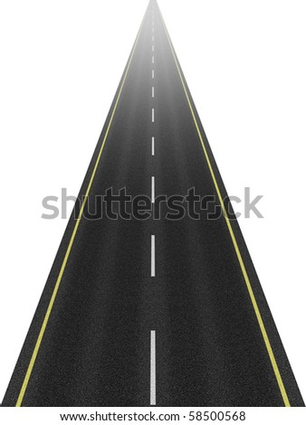 Road to the Future - stock photo