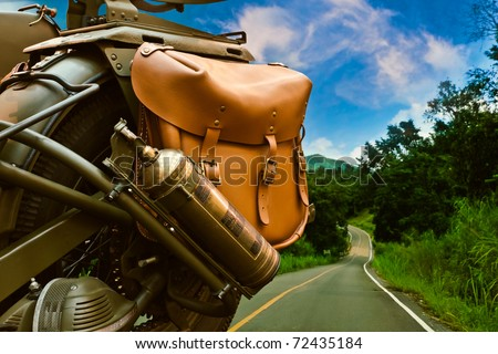 Road Trip - stock photo