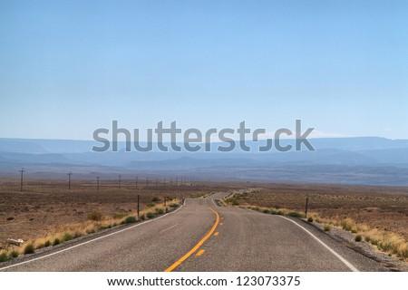 Road trip, Utah, USA - stock photo