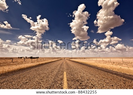 Road Tripping - stock photo