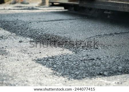 Road Work - stock photo