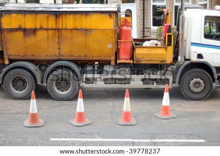 Road Works Truck