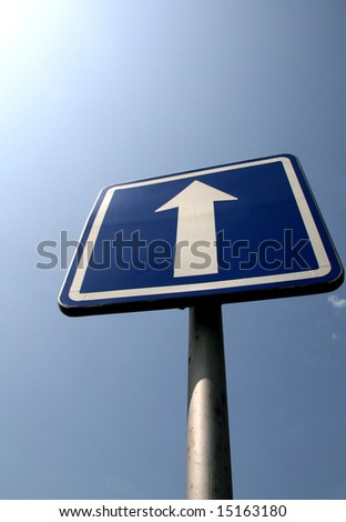Roadsign - stock photo