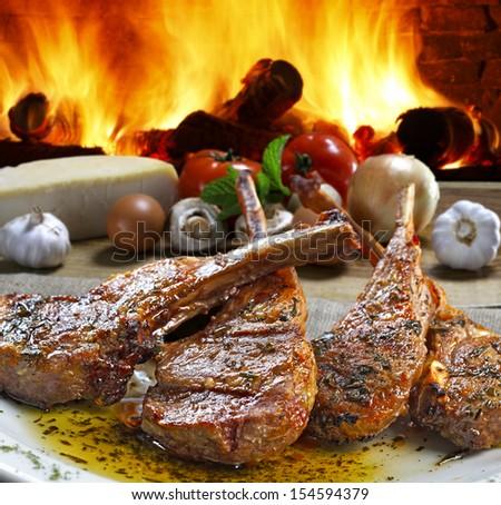 roast beef - stock photo