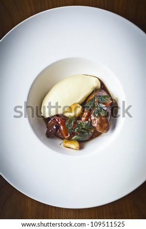 roast pork - stock photo