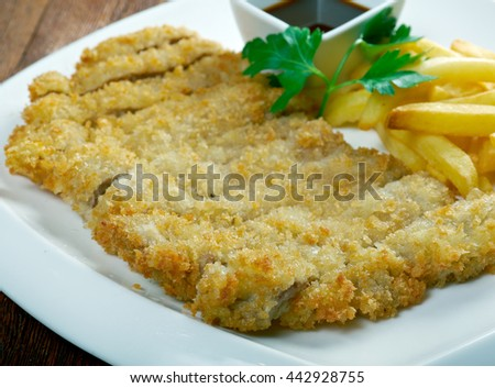 Roast pork in breadcrumbs Chinese style