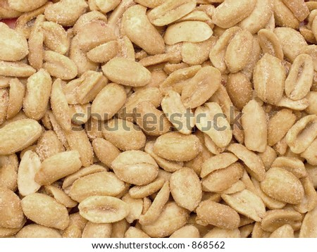 Roasted and salted fresh peanuts