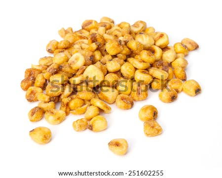 Roasted corn nuts  - stock photo