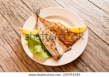 roasted mackerel