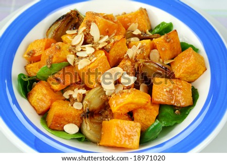 roast potatoes roast ed pumpkin salad festive roast pumpkin salad