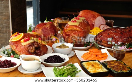 Thanksgiving Ham Stock Images, Royalty-Free Images & Vectors | Shutterstock