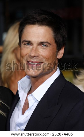 "Rob Lowe at the Los Angeles Premiere of ""The Invention of Lying"" held at the Grauman's Chinese Theater in Hollywood, California, United States on September 21, 2009."