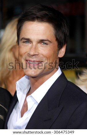 Rob Lowe at the Los Angeles premiere of 'The Invention of Lying' held at the Grauman's Chinese Theater in Hollywood, USA on September 21, 2009.