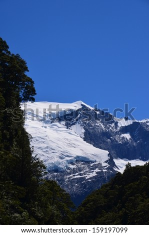 Rob Roy Glacier - stock photo