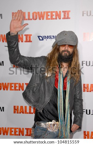 Rob Zombie at the Los Angeles Premiere of 'Halloween II'. Grauman's Chinese Theatre, Hollywood, CA. 08-24-09