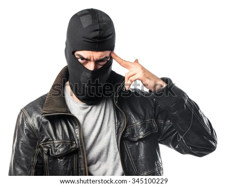 Robber thinking