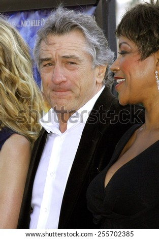 "Robert De Niro attends the Los Angeles Premiere of ""Stardust"" held at the Paramount Pictures Studios in Hollywood, California, on July 29, 2007."