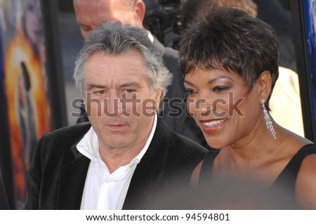 "Robert De Niro & wife Grace Hightower at the Los Angeles premiere of ""Stardust"" at Paramount Studios, Hollywood. July 30, 2007  Los Angeles, CA Picture: Paul Smith / Featureflash"
