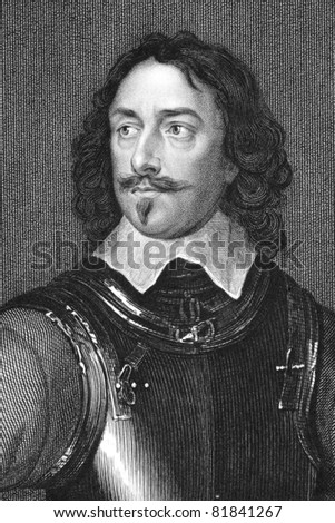 Robert Devereux (1591-1646). Engraved by T.A.Dean  and published in Lodge's British Portraits encyclopedia, United Kingdom, 1823.
