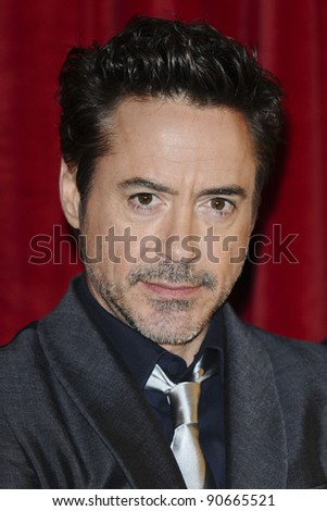Robert Downey Jr arriving for the 'Sherlock Holmes: A Game of Shadows' premiere at the Empire Leicester Square, London. 08/12/2011 Picture by: Steve Vas / Featureflash