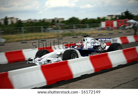 Robert Kubica - the best polish F1 driver and its BMW The winner of Canadian Grand Prix in 2008 season