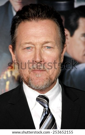 "Robert Patrick at the Los Angeles premiere of ""Gangster Squad"" held at the Grauman's Chinese Theatre in Los Angeles, United States, 07-01-13.  - stock photo"