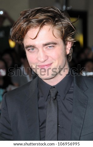 Robert Pattinson at the Los Angeles Premiere of 'Twilight'. Mann Village, Westwood, CA. 11-17-08