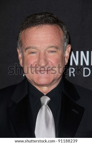 Robin Williams at the BAFTA Los Angeles 2011 Britannia Awards, Beverly Hilton Hotel, Beverly Hills, CA 11-30-11 - stock photo